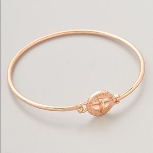 Marc Jacobs Rose Gold Turlock Skinny Bracelet